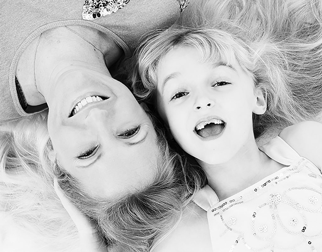 , Mother and Daughter